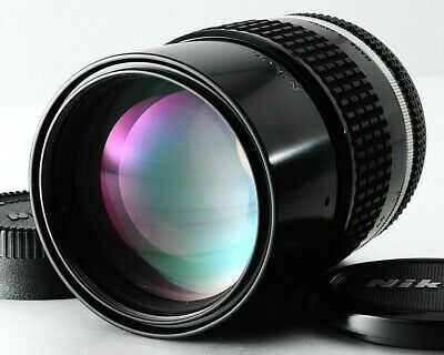 MINT++ Nikon Nikkor Ai-s 135mm F/2.8 Telephoto Manual Focus MF Lens From Japan