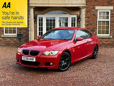 BMW 320 2.0 2008 i M Sport 320i finance available low mileage red