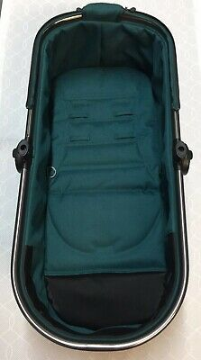 Mothercare Orb All Terrain Carry Cot In Teal - Great Condition
