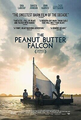 The Peanut Butter Falcon (2019) Shia LeBeouf Dakota Johnson Movie Poster NEW