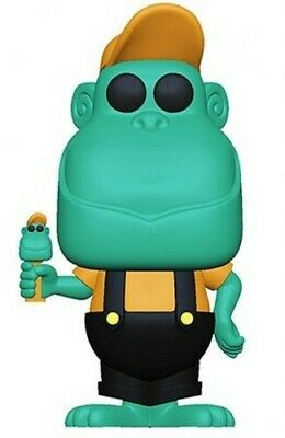 Funko Pop! Ad Icons: - Pez - Mimic The Monkey (Teal) 889698 (Toy Used Very Good)