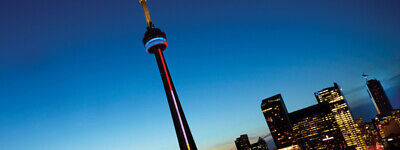 CN Tower in Toronto - 2 General Admission Tower Experience Tour Tickets