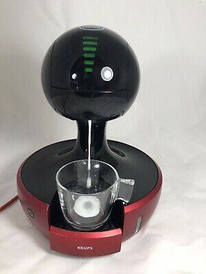 Krups KP350 Nescafe Dolce Gusto Drop Touch Coffee Machine - Red - NO BOX