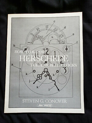 NEW How to Repair Herschede Tubular Bell Clocks - by Steven Conover New Unused