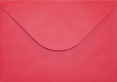 C5 A5 SCARLET RED Coloured Envelopes Greeting Card Party Invitations Crafts