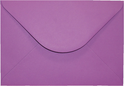 C5 A5 PURPLE Coloured Envelopes Greeting Card Party Invitations Crafts 162x229mm
