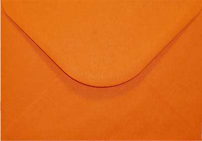 C5 A5 ORANGE Coloured Envelopes Greeting Card Party Invitations Crafts 162x229mm