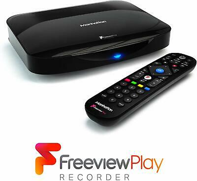 Manhattan T3-R Freeview Play 4K Smart Recorder STB with 500GB Hard Drive