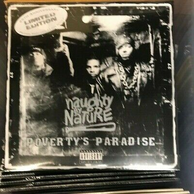 Naughty By Nature Poverty's Paradise LP  Record Store Day RSD 2019 NEW/SEALED