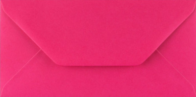 DL FUCHSIA PINK Coloured Envelopes Greeting Card Party Invitations Craft