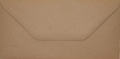 DL BROWN FLECK KRAFT Coloured Envelopes Greeting Card Party Invitations Craft