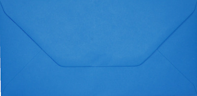 DL KINGFISHER BLUE Coloured Envelopes Greeting Card Party Invitations Crafts