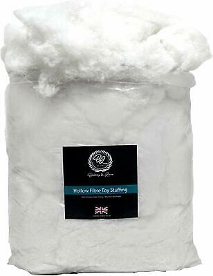 1000g / 1kilo Super Soft Virgin Hollowfibre for Filling, Stuffing Toys,Cushions