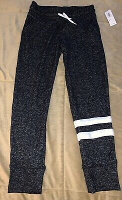 OLD NAVY Girls (S) 6/7 Gray Joggers Sweatpants NWT