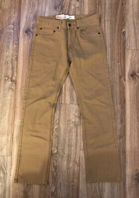Levis 511 Skinny Reg 28X28 Metal Bronze Color