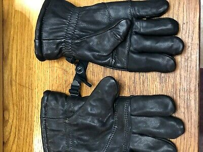 GLOVES, genuine Us military issue, black, (intermediate cold/wet weather) small