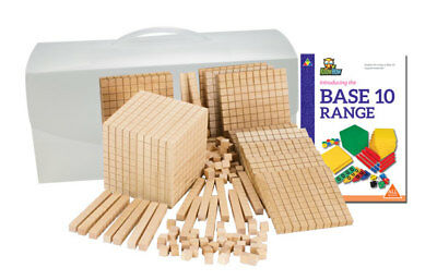 MAB Base Ten Student Set Mixed 121pc from Australian Teachers Resources