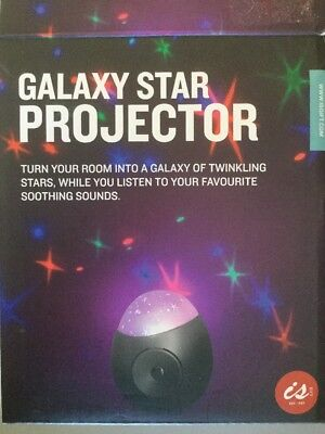 Galaxy Star Projector And Sound Machine