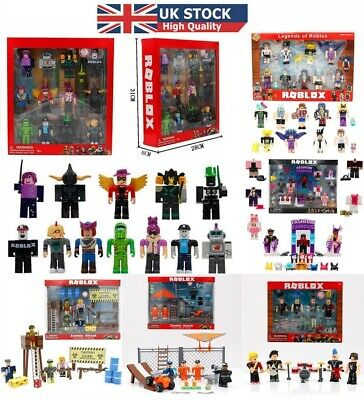 2019 NEW Roblox Figures 4pcs PVC Game Roblox Toy Mini Box Package Kids Xmas Gift