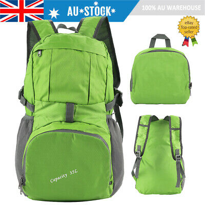 35L Foldable Waterproof Outdoor Sports Backpack Camping Hiking Travel Bag