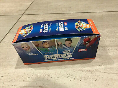 Full box Sainsburys Heroes Cards Disney Pixar Star Wars Marvel Approx 180 Packs