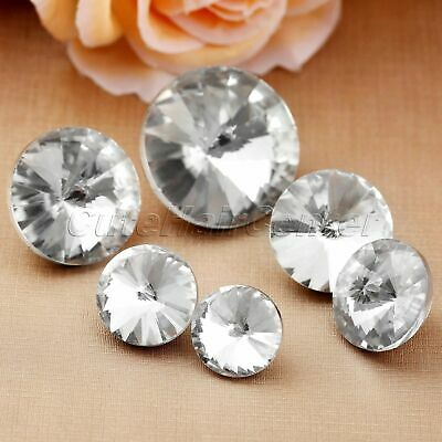 10pcs Crystal Upholstery Button Satellite Drilling Pulling Buckle Sofa Decor