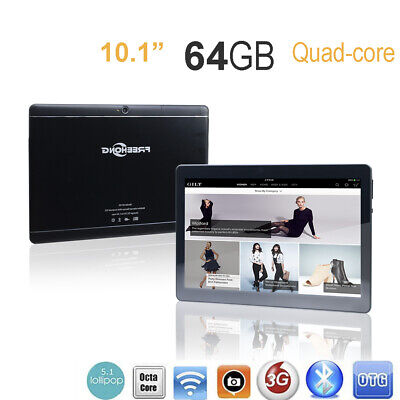 10.1''Game Tablet Dual SIM PC Octa Core 4+64GB Phablet Christmas Gift Kids Child