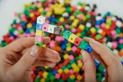 1cm x 100 Cubes Counting Interlocking Math Learning Home Resources
