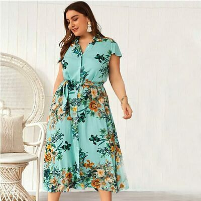 Holiday Sundress Plus Size Summer Women Party Dress Maxi Beach Long Strappy