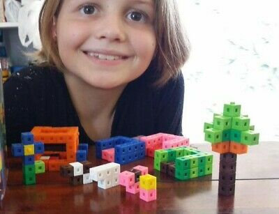1cm x 400 Cubes Counting Interlocking Math Learning Home Resources