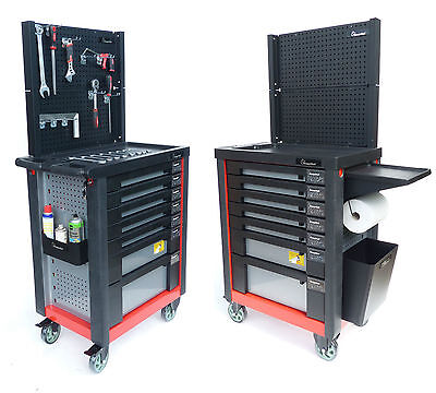 Tool Wagen Workshop Cart Filled with Tool Toolbox Tool Box