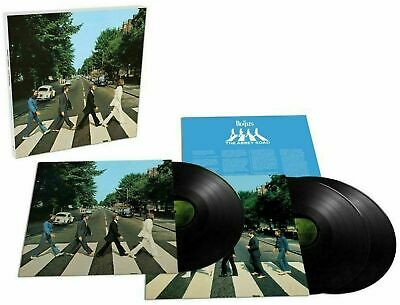 THE BEATLES Abbey Road 3 X LP 50th Anniversary Deluxe Box Set  New!
