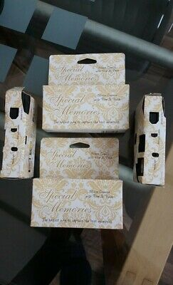 Camera x 4 Special Memories for PartyGuests 2 new 2 part used Out Of Date