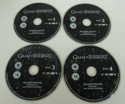 Game Of Thrones - Season 7 - Complete  - DISCS ONLY