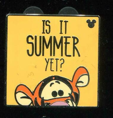 DLR Hidden Mickey 2019 Winnie the Pooh Quotes Summer Disney Pin 134124