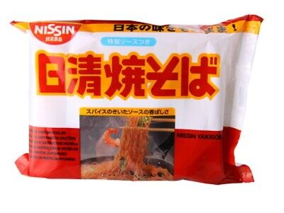Nissin Instant Noodle Yakisoba 100g (Pack of 5 packs)