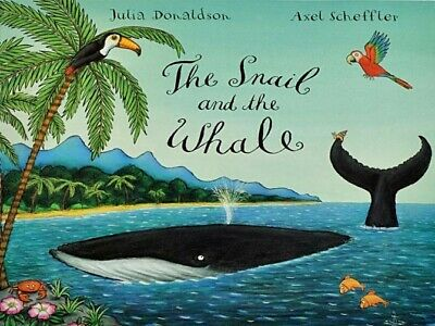 The Snail and the Whale by Julia Donaldson Alex Scheffler Paperback NEW