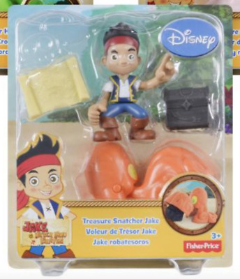 Disney Junior Treasure Snatcher Jake /& The Never Land Pirates New In Box