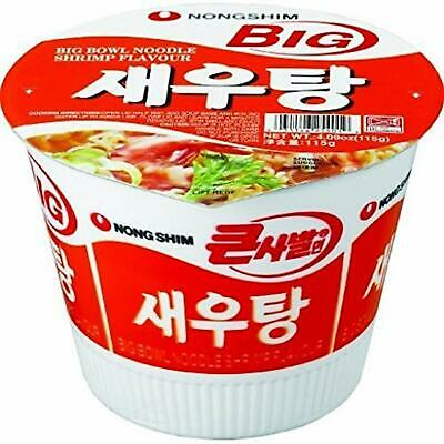 Korean Nong Shim Shrimp Ramyun Big Bowl 115G, Pack of 16