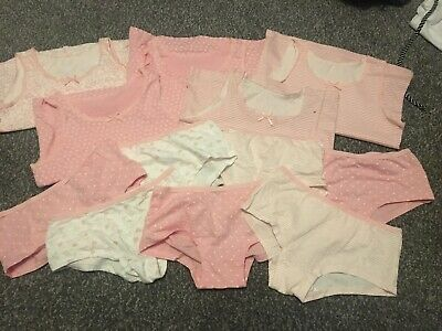BNWOT Girls Knickers and Vest Bundles Size 5-6yrs