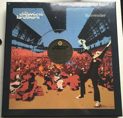 The Chemical Brothers - Surrender VINYL 20th Anniversary 4LP+DVD BOX NEW!