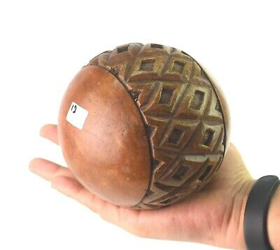 Art Vintage Theme Decorative Wooden Ball Awesome Handcrafted Ball i71-360 UK