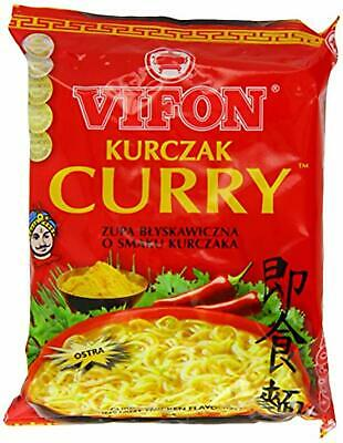 Vifon Curry Chicken Flavour Instant Noodle Soup Hot 70 g (Pack of 24)