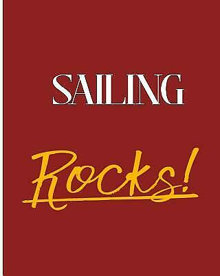 Sailing Rocks!: 2018 - 2019 8x10 18 Months Premium On-the-Go Diary Journal ...