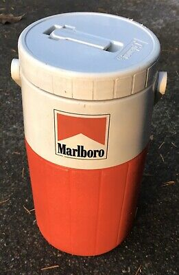 Coleman Marlboro Insulated Hot Cold Beverage Carrier Pre-Owned Clean