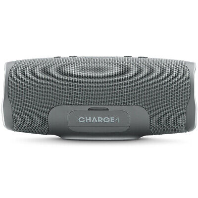 JBL Charge 4 Portable Waterproof Bluetooth Speaker - Gray