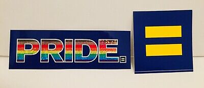 Human Rights Campaign Decal Sticker 3x3 Gay Pride Lgbt