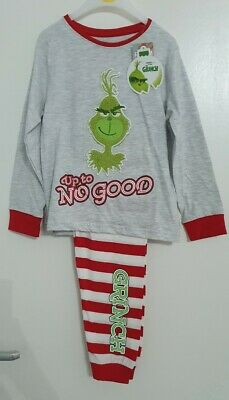 Primark Grinch kids girls boys 1-15 years  christmas family range pyjamas child