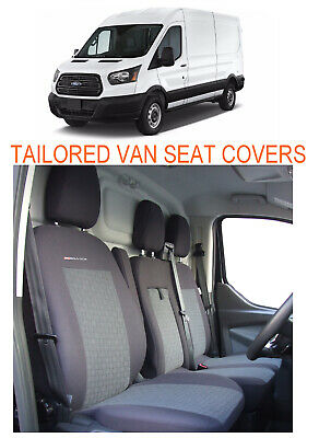 Fully tailored Van seat covers for FORD TRANSIT 2013 - on  2+1 - (P1)