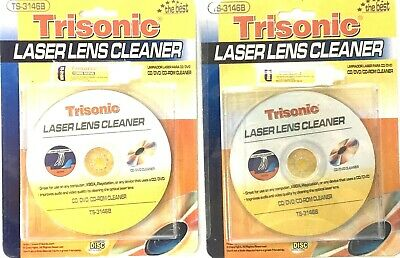 Cd Dvd Player Cleaner Laser Lens Cleaning Kits for Systems that plays Disc